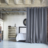 Slate Gray Divider w/ Silver Rod