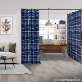 Blue Stripe Divider w/ Black Rod