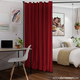 Sierra Red Divider w/ Black Rod