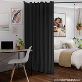 Midnight Black Divider w/ Silver Rod