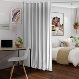 Natural White Divider w/ Silver Rod