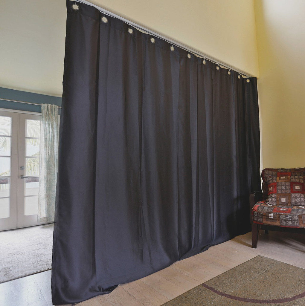 black ceiling track room divider kits easy privacy