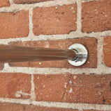 Silver Tension Curtain Rod