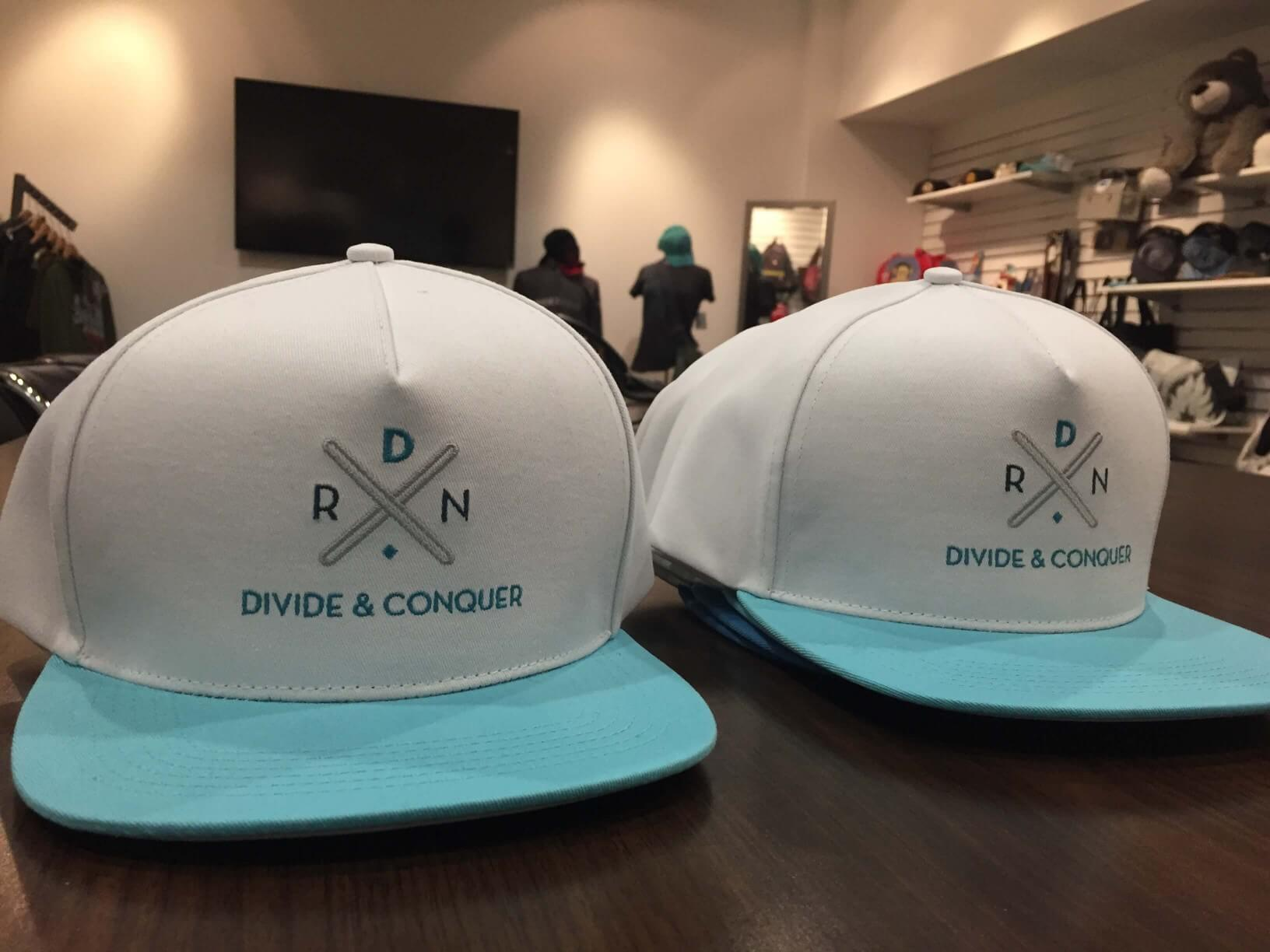 RoomDividersNow custom hats