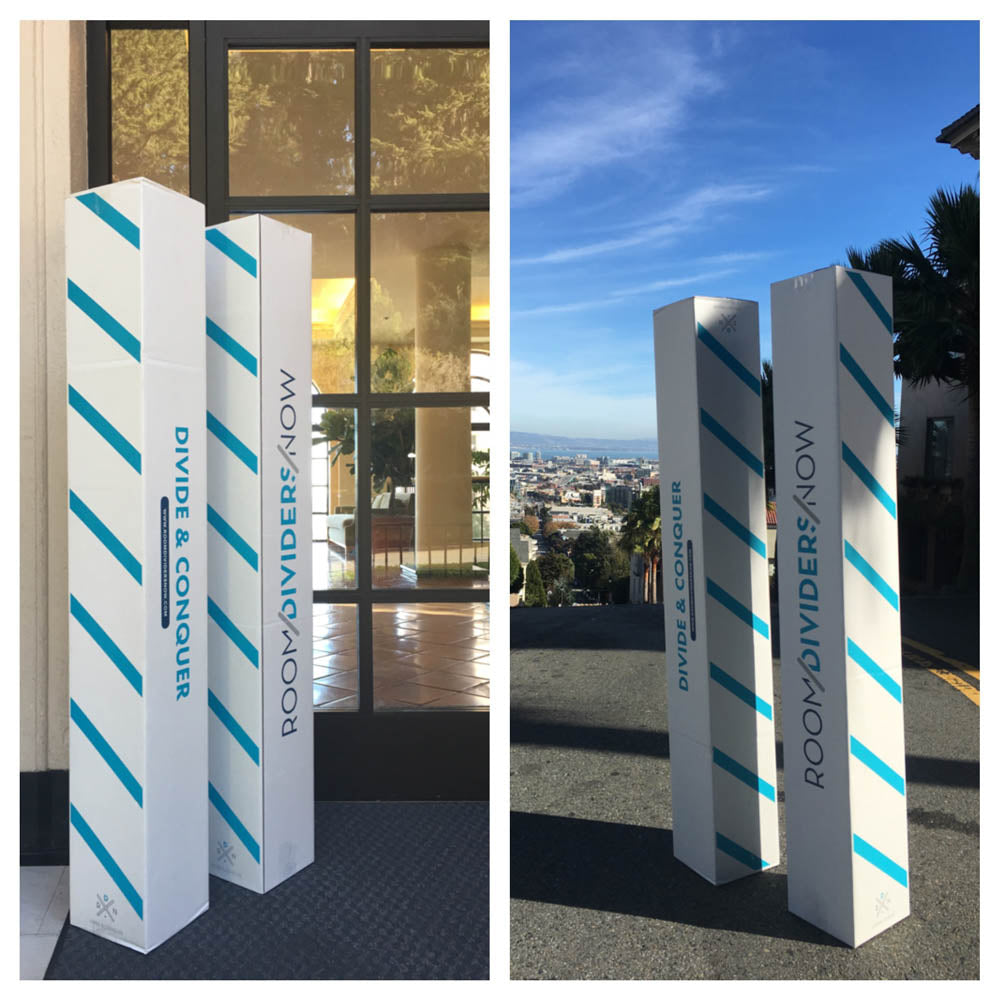 Our Room Divider Kits are a hit in San Francisco