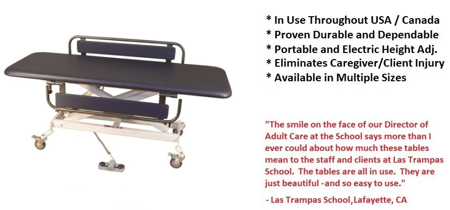 Special Needs Adult / Student Changing Tables