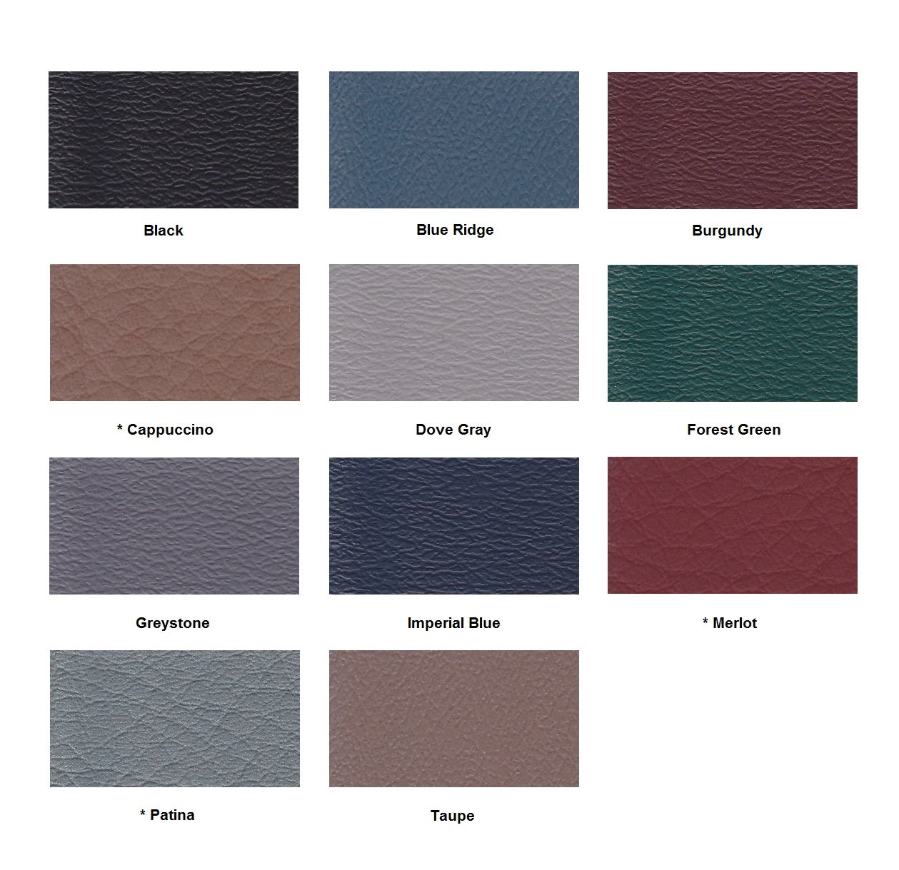 Armedica Upholstery Colors