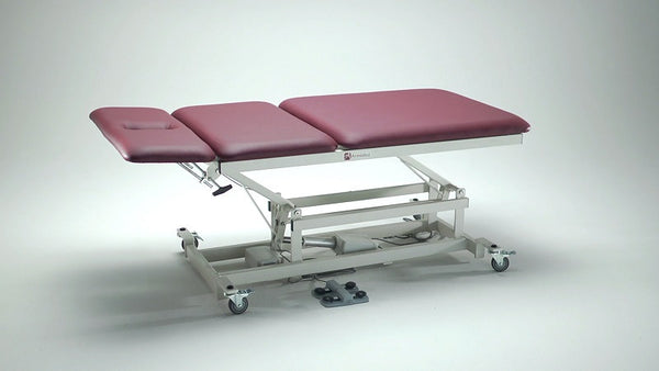 Armedica AM-368PB Three-Section Super Bariatric Hi Low Treatment Table w/ Patient Lift - Core Medical Equipment