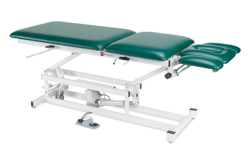Armedica AM-505 Five-Section Hi Low Mobilization Table w/ Adjustable Armrests - Core Medical Equipment