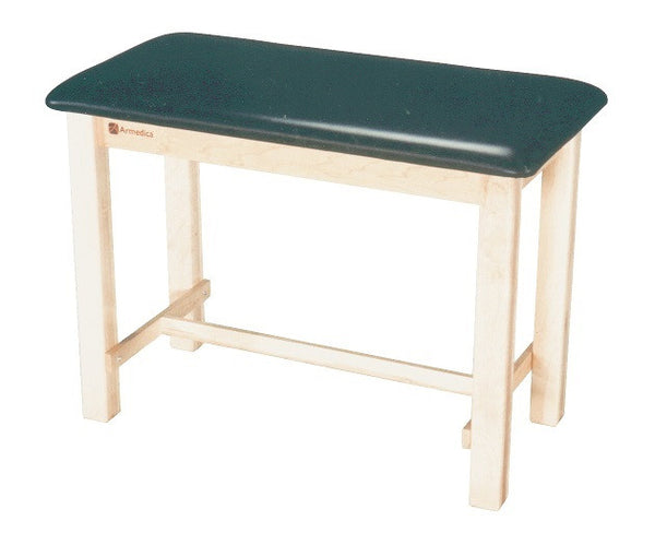 Armedica AM-620 Maple Hardwood Taping Table with H-Brace - Core Medical Equipment
