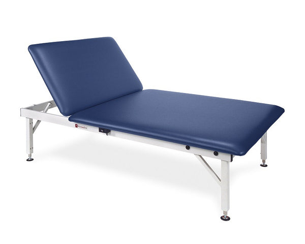 Armedica AM-643 4' x 7' Manual Adjustable Steel Mat Table w/ Backrest - Core Medical Equipment