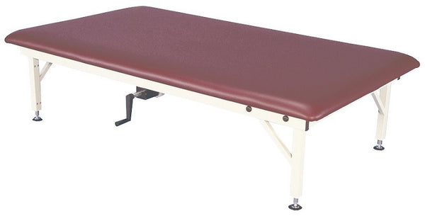 Armedica AM-652 5' x 7' Manual Adjustable Steel Mat Table - Core Medical Equipment