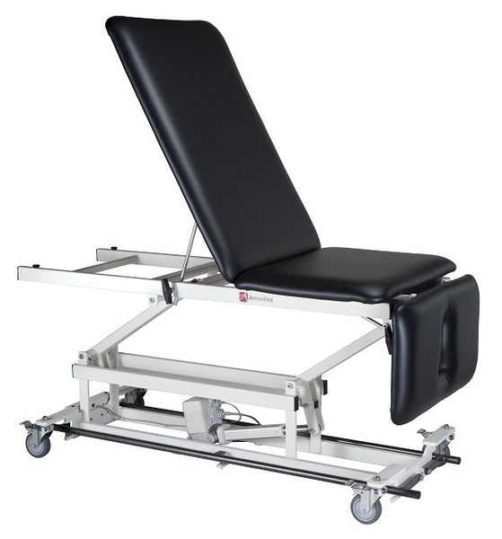 Armedica AM-BA 350 Three-Section Bar Activated Hi Low Treatment Table - Non-Elevated Center - Core Medical Equipment
