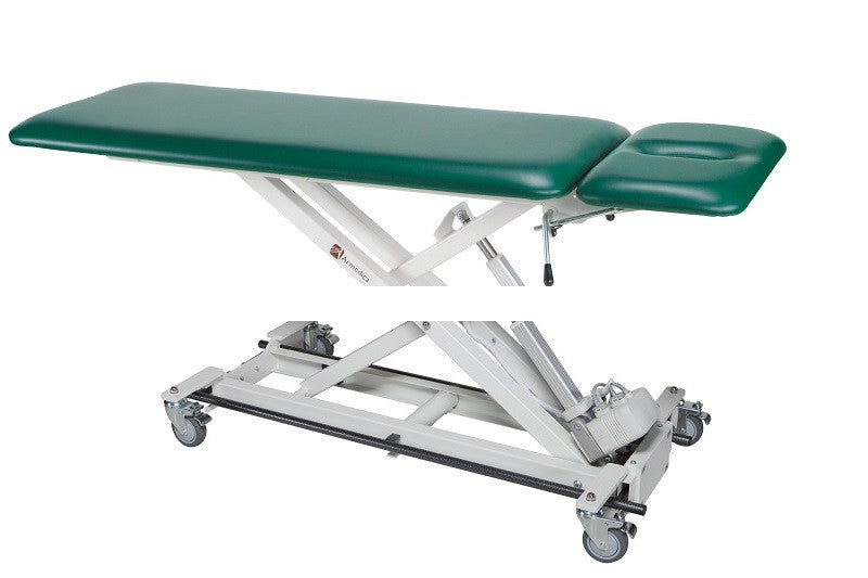 Armedica AM-BAX 2000 Two-Section Bar Activated Hi Low Treatment Table - Core Medical Equipment