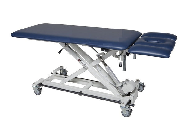 Armedica AM-BAX 2500 Two-Section w/ 3-Piece Head Bar Activated Hi Low Treatment Table - Core Medical Equipment