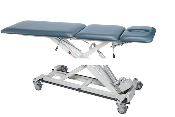 Armedica AM-BAX 3500 Three-Section w/ Non-Elevating Center Bar Activated Hi Low Treatment Table - Core Medical Equipment