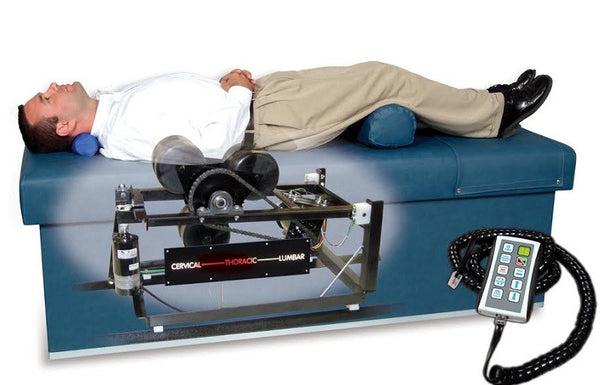 Armedica AMQ-400 - Quantum 400 Intersegmental Traction Table / Roller Massage Table (Includes Shipping) - Core Medical Equipment