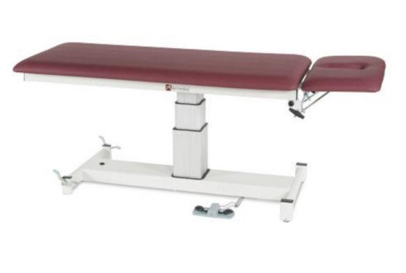 Armedica AM-SP 200 Two-Section Single Pedestal Hi Low Treatment Table - Core Medical Equipment