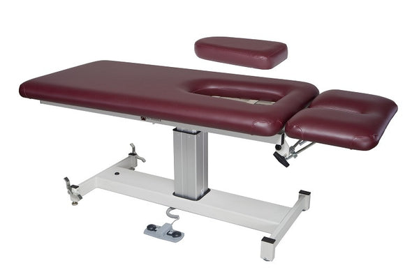 Armedica AM-SP 202 Two-Section Single Pedestal Hi Low Treatment Table - Core Medical Equipment