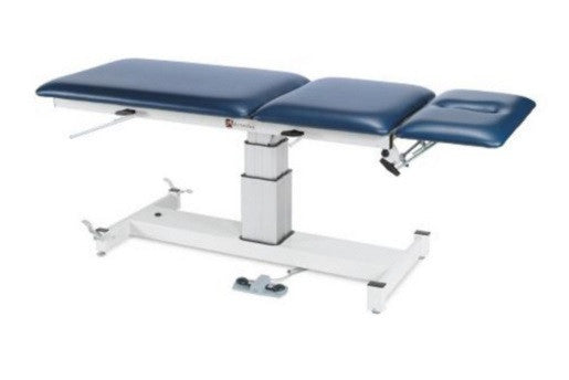 Armedica AM-SP 300 Three-Section Single Pedestal Hi Low Treatment Table - Core Medical Equipment