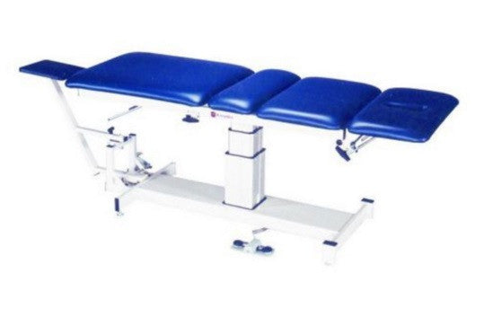 Armedica AM-SP 400 Four-Section Single Pedestal Hi Low Traction Table - Core Medical Equipment