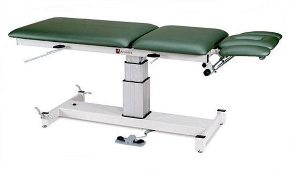 Armedica AM-SP 500 Five-Section Single Pedestal Hi Low Treatment Table - Core Medical Equipment