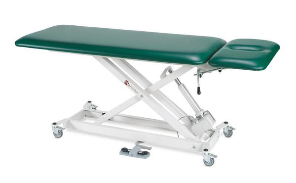 Armedica AM-SX 2000 Two-Section Hi Low Treatment Table - Black - Core Medical Equipment