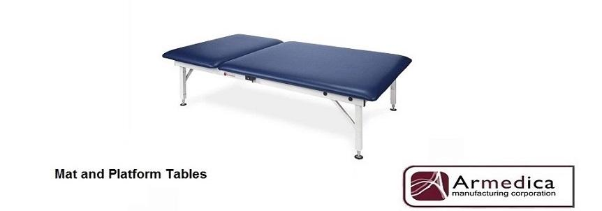 Industry leading Armedica Mat Platforms and Tables