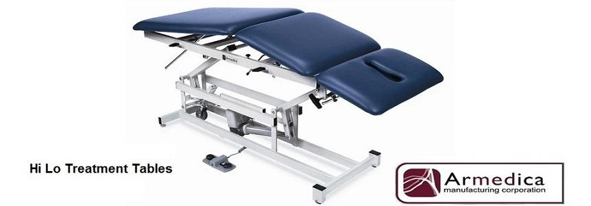 The industry's best Hi Lo Treatment Tables