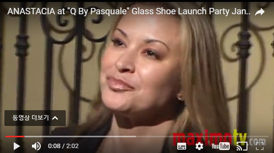 "ANASTACIA at ""Q By Pasquale"" Glass Shoe Launch Party Jan 29, 2010"