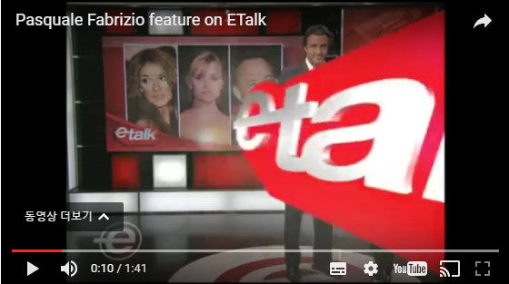 Pasquale Fabrizio feature on ETalk