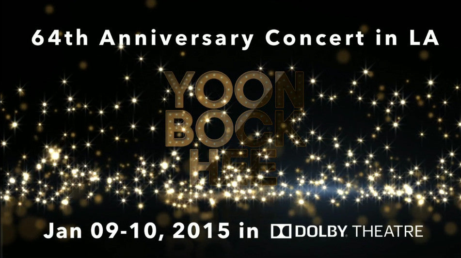 Concert Promo - BockHee Yoon at Dolby Theatre