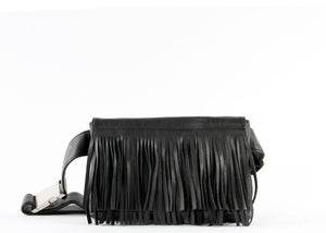 FRINGE BELT BAG