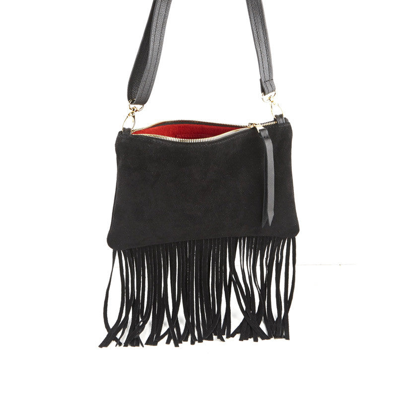 MINI FRINGE CLUTCH