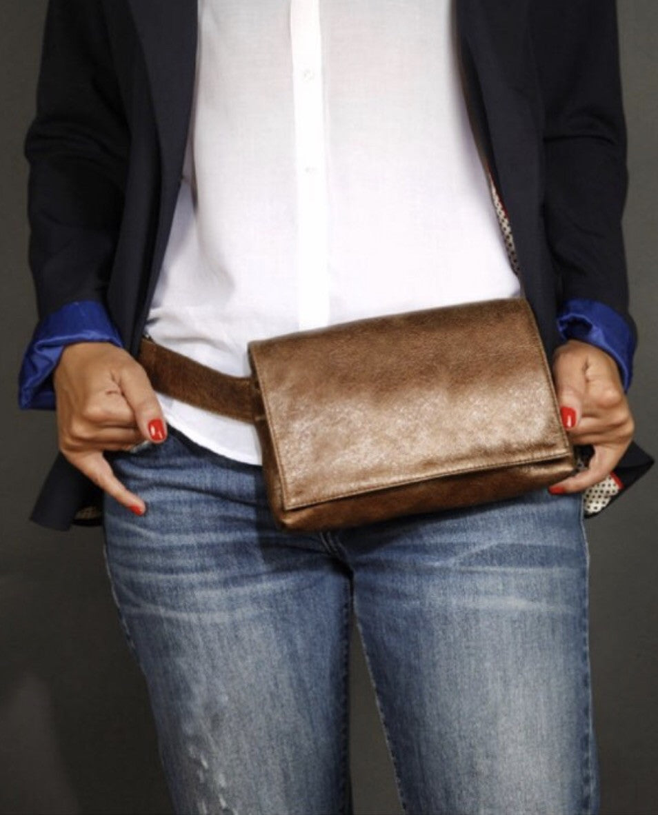 CLUTCH BELT BAG