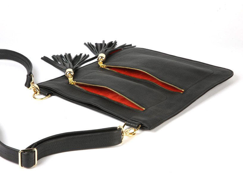 TASSEL MESSENGER BAG