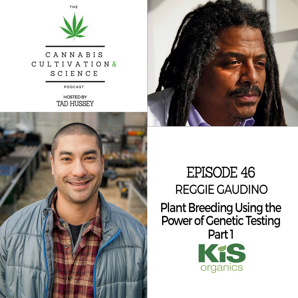 Episode 46: Plant Breeding Using the Power of Genetic Testing Part 1 with Dr. Reggie Gaudino