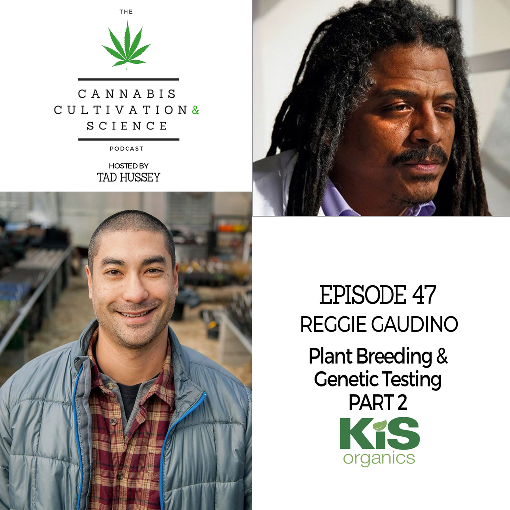 Episode 47: Plant Breeding & Genetic Testing Part 2 with Dr. Reggie Gaudino