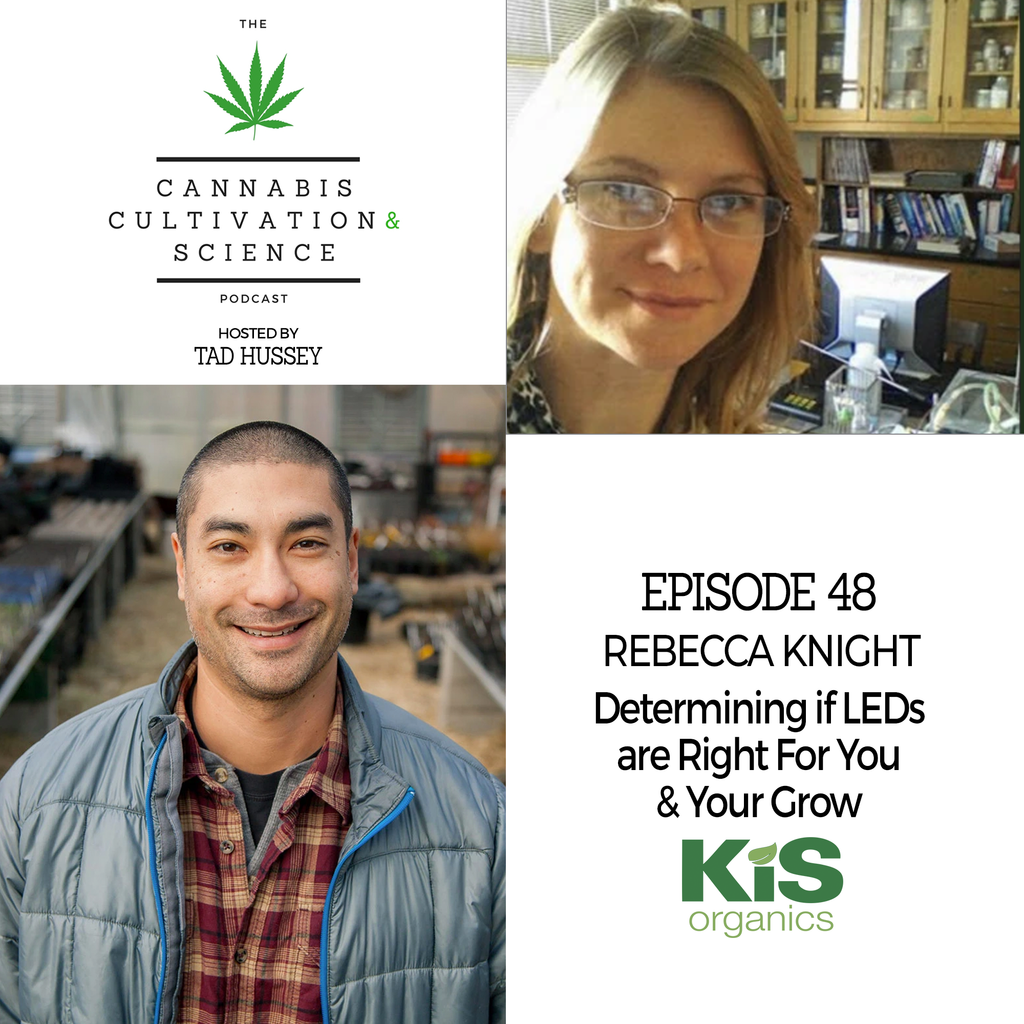 Episode 48: Determining if LEDs are Right For You & Your Grow with Dr. Rebecca Knight