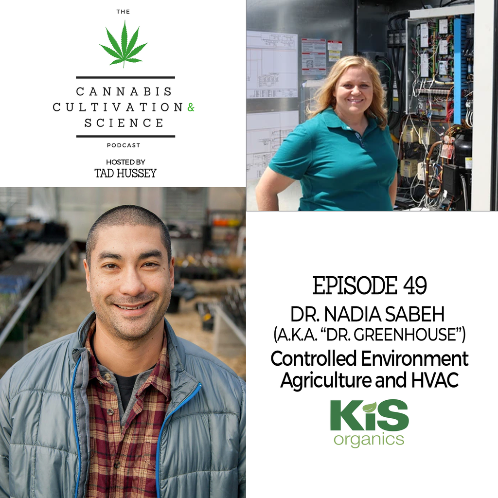 Episode 49: Controlled Environment Agriculture & HVAC with Dr. Nadia Sabeh