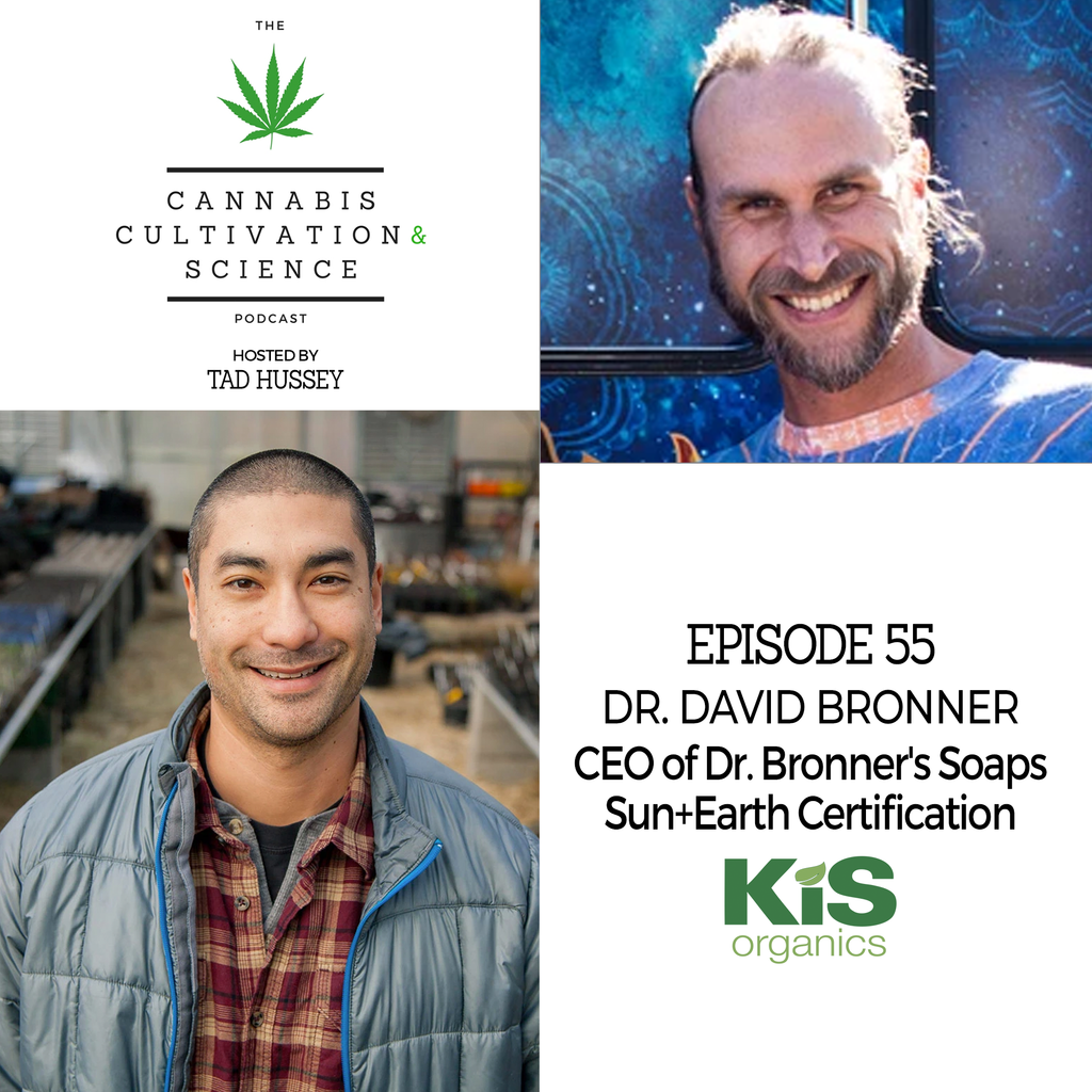 Episode 55: CEO of Dr. Bronner's Soaps Sun+Earth Certification with Dr. David Bronner