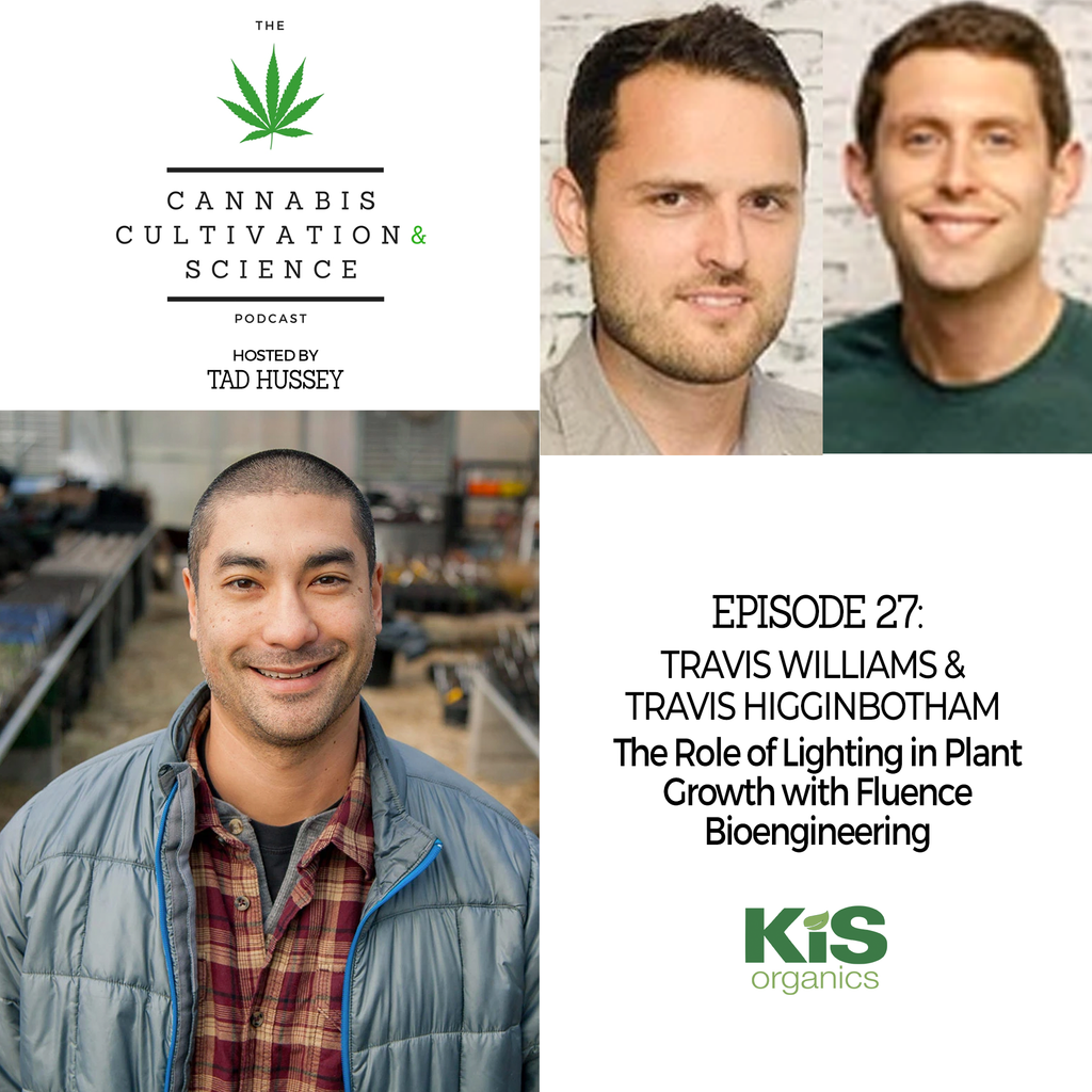 Episode 27: The Role of Lighting in Plant Growth with Fluence Bioengineering with Travis Williams & Travis Higginbotham