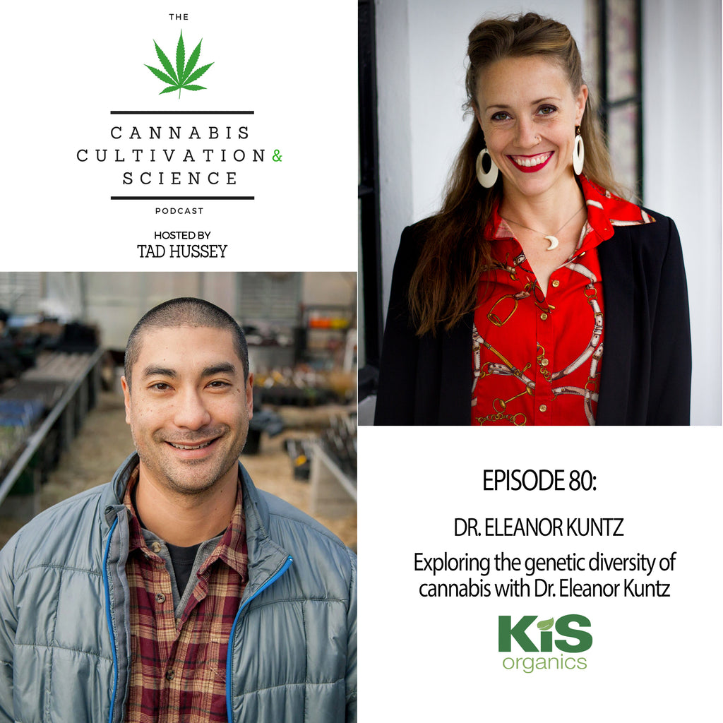 Episode 80: Exploring the Genetic Diversity of Cannabis with Dr. Eleanor Kuntz