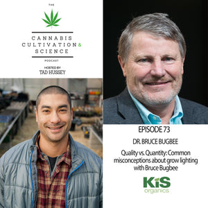 Episode 73: Quality vs. Quantity: Common misconceptions about grow lighting with Bruce Bugbee
