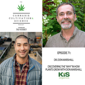 "Episode 71: Discovering the ""why"" in how plants grow with Don Marshall"
