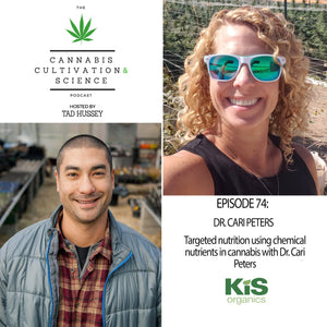 Episode 74: Targeted Nutrition Using Chemical Nutrients in Cannabis with Dr. Cari Peters