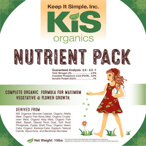 Mixing Your Own Soil Using The KIS Nutrient Pack