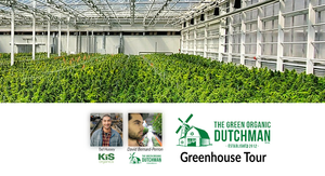 The Green Organic Dutchman (TGOD) Greenhouse Tour Video Replay