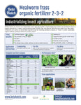 Mealworm Insect Fertilizer (Frass) 2-3-2