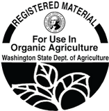WSDA Registered for use in organic production